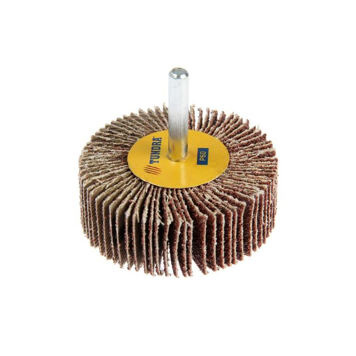 Круг лепестковый радиальный TUNDRA, 60 х 20 х 6 мм, Р60