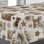 Клеёнка столовая Sale & Pepe «Зимняя сказка», 140 см, рулон 20 пог. м
