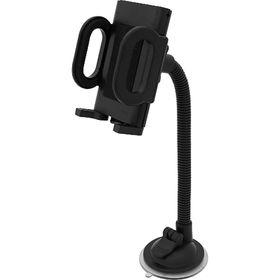 Держатель КПК и телефона 50-115 мм, универсальный, чёрный