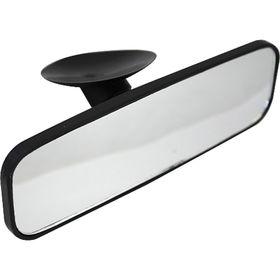 Зеркало внутрисалонное регулируемое на присоске 16х5,5 см Ош