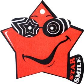 """Ароматизатор воздуха """"Star Smile"""", подвесной, свежесть луга"""