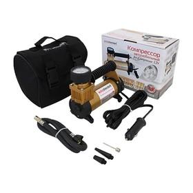 Компрессор автомобильный Торнадо III, 12В, 35 л/мин., 100Вт, в прикуриватель Ош
