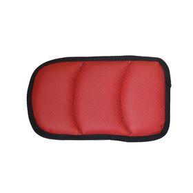 Подушка на подлокотник (размер 16 х 28 см) красная Ош