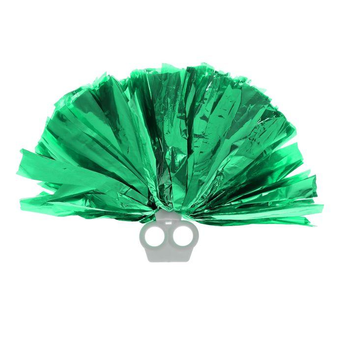 Помпон 50 г, цвет зелёный