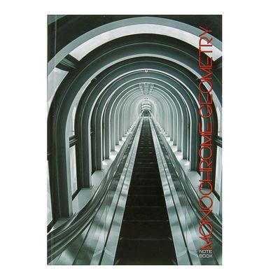 """Колледж-тетрадь А5, 100 листов в клетку """"Городской стиль. Туннель"""", твёрдая обложка, глянцевая ламинация, сшитый блок - Фото 1"""