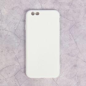 Чехол LuazON для iPhone 6/6S, материал TPU, белый Ош