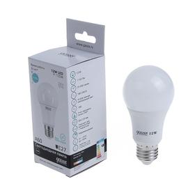 Лампа светодиодная Gauss, Elementary, A60, 12 Вт, E27, 4100K