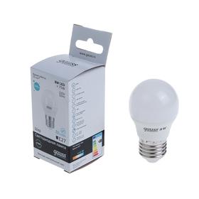 Лампа светодиодная Gauss, Elementary, G45, E27, 8 Вт, 4100K