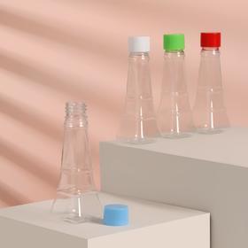Бутылочка для хранения «Башня», 50 мл, цвет прозрачный/жёлтый Ош