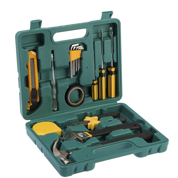 Набор инструментов в кейсе LOM, универсальный, 15 предметов