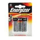 Батарейка алкалиновая Energizer Max, С, LR14-2BL, 1.5В, блистер, 2 шт.