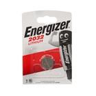 Батарейка литиевая Energizer, CR2032-1BL, 3В, блистер, 1 шт. - Фото 3