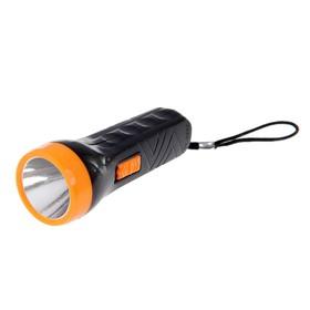 Фонарик ручной, 1 LED, микс, 10х3.8х3.8 см