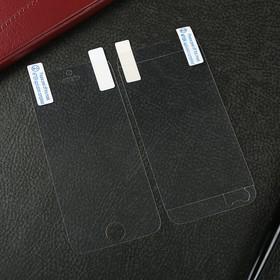 Защитная пленка Luazon для iPhone 5/5s/SE прозрачная (для экрана и задней крышки)