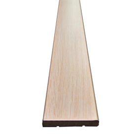 Наличник МДФ плоский Беленый дуб 7,5x70x2150 Ош