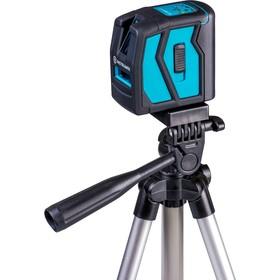 """Нивелир лазерный INSTRUMAX ELEMENT 2D Set IM0111, 10/50 м, ±2 мм/10 м, 2 линии, 1/4"""""""