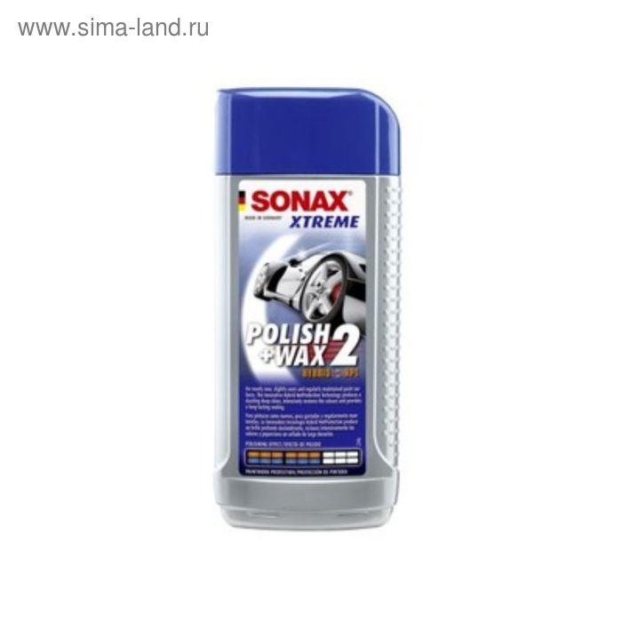 Полироль SONAX №2 NanoPro Xtreme для новых покрытий, 250 мл, 207100