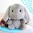 """Мягкая игрушка """"Зайчик Банни"""", цвет серый, 45 см"""