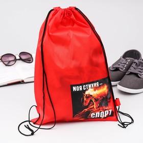 Мешок для обуви 'Моя стихия - спорт' Ош