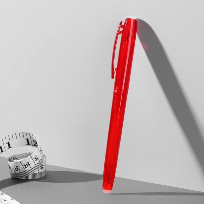 Ручка для ткани, термоисчезающая, цвет красный №03