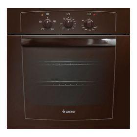 Духовой шкаф Gefest ДГЭ 601-01 К, газовый, коричневый