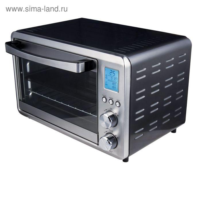 Духовой шкаф Gemlux GL-OR-1555, 1500 Вт, 25 л, 25 режимов, 30-230°С, подсветка, ЖК-дисплей