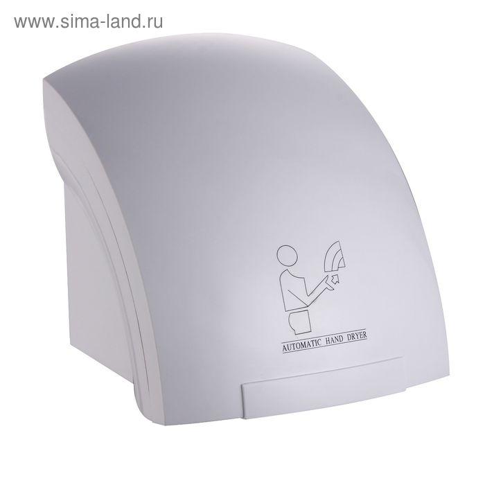 Сушилка для рук Gemlux GL-HD1800P, настенная, 1800 Вт, 15 м/сек, время сушки 15 сек, белая