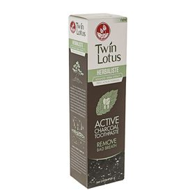 "Зубная паста Twin Lotus Active Charcoal ""Угольная"", 25 г"