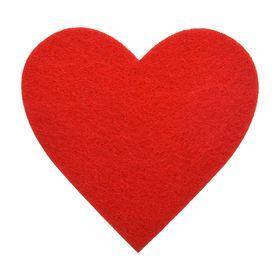 Подставка «Сердечко» фетровая