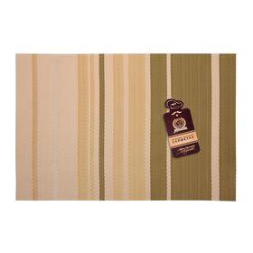 Салфетка сервировочная «Геометрия», цвет капучино