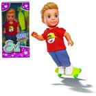 Кукла «Тимми скейтбордист», 12см