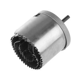 Набор коронок Top Tools 60H972, с центрирующим сверлом, 26-63 x 43 мм, 7 шт.