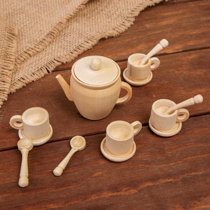"""""""Чайный сервиз"""" набор на 4 персоны"""