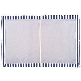 Стенка синяя с москитной сеткой для тента-шатра №4140 Ош