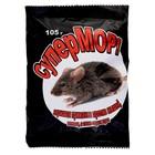 Зерно от грызунов СуперМОР ВХ цв. пакет, 105 г