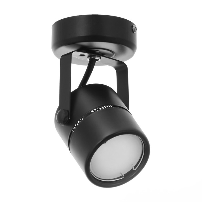 """Светильник IL.0005.0200 """"Мини-прожектор"""" 1x50W GU5.3 черный 5,7х5,7х14 см"""