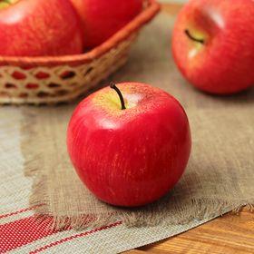 Муляж яблоко розовое 7*6 см Ош