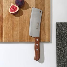 Топорик кухонный Tramontina Сarbon для мяса, с деревянной ручкой