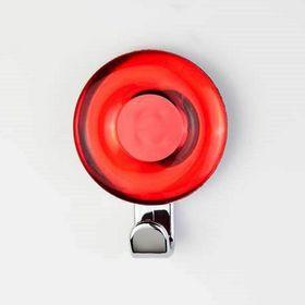 Крючок декоративный «Кольцо» красный