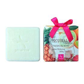Натуральное мыло с ароматом тропических фруктов