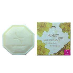 Натуральное мыло с добавлением серы