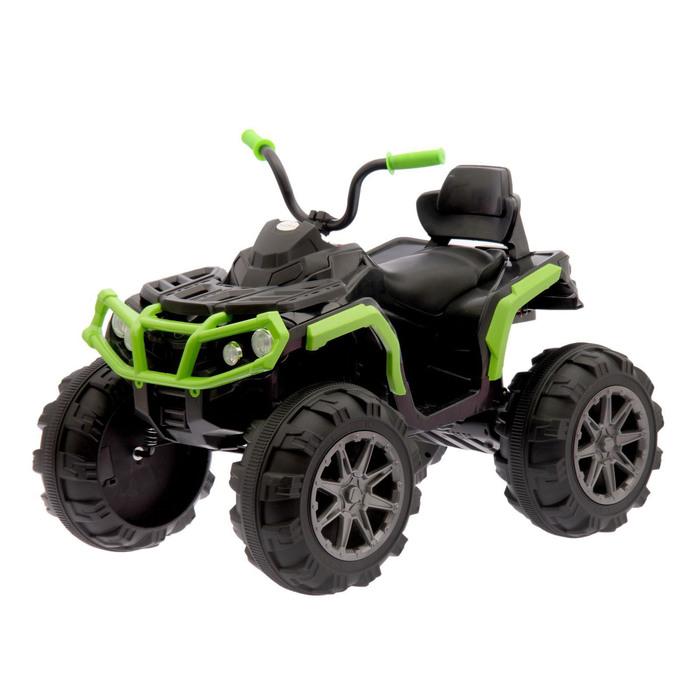 """Электромобиль """"Квадроцикл"""", 2 мотора, цвет зеленый (без радиоуправления)"""