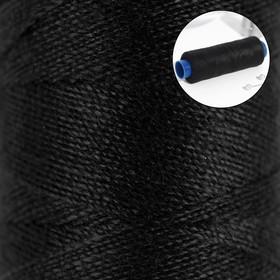 Нитки 40/2, 183 м, цвет чёрный Ош