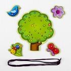 Шнуровка «Дерево с насекомыми и птицей» - Фото 4