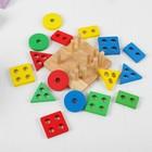 Сортер «Логический квадрат», толщина элементов — 1 см - Фото 3