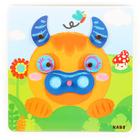 """Сортер """"Забавные животные"""" в наборе: планшет + 40 деталей - Фото 5"""