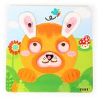 """Сортер """"Забавные животные"""" в наборе: планшет + 40 деталей - Фото 6"""