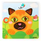 """Сортер """"Забавные животные"""" в наборе: планшет + 40 деталей - Фото 8"""