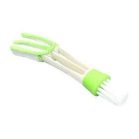 Щетка TORSO для чистки труднодоступных мест в автомобиле, 16 см, зелёный