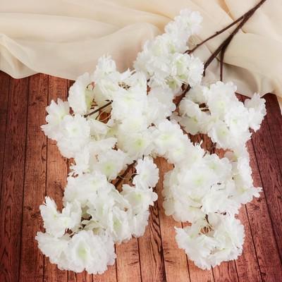 """Цветы искусственные """"Мелани"""" 6*100 см, белые - Фото 1"""
